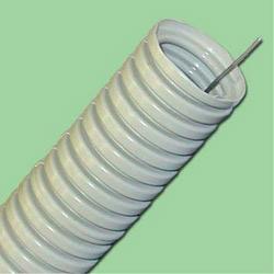 Гофрированная труба ПВХ для проводки D20 мм с протяжкой