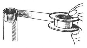 Герметизация лентой ФУМ