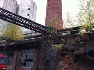 Промышленная дымовая  труба