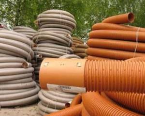 Пластиковые трубы для систем дренажа