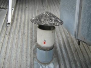 Дымоход из асбестовой трубы