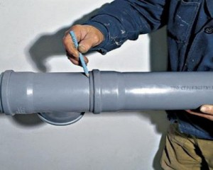 Монтаж канализационных труб