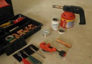Набор инструмент для монтажа медных труб