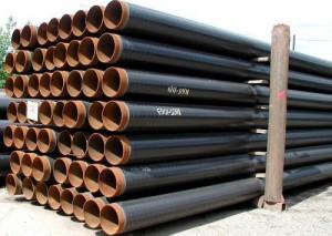 Труба чугунная канализационная обработанная битумом
