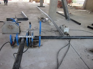 Электромуфтовая сварка ПНД труб