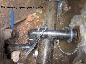 Прокладка полиэтиленовых труб