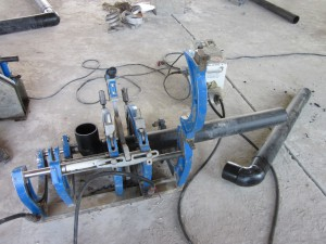 Оборудование для соединения полиэтиленовых труб