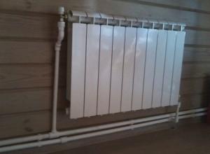радиатор в двухтрубной системе отопления