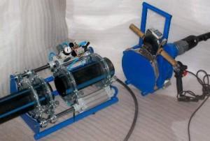 Процесс сварки после удаления нагревательного элемента