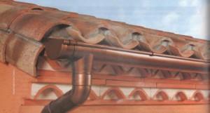 Оцинкованный водосток с полимерным покрытием