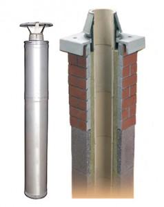 Конструкция кирпичной дымовой трубы