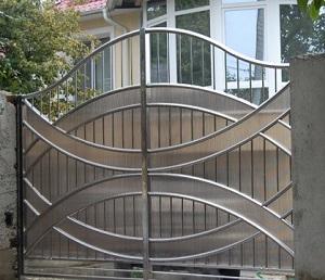 Забор из нержавеющей стали