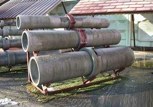Асбестоцементные скважные трубы