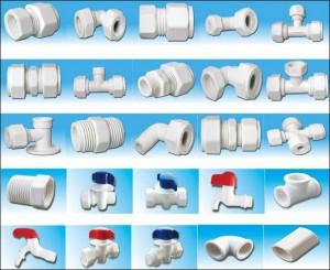 Фитинги для соединения пластиковых труб