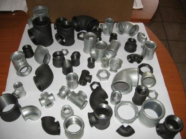 Виды фитингов для стальных труб