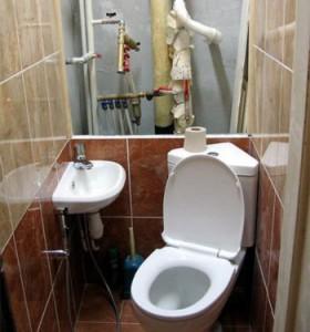 Туалет закрыть трубы своими руками фото 110
