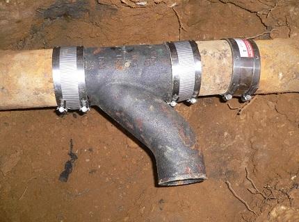 ремонт труб