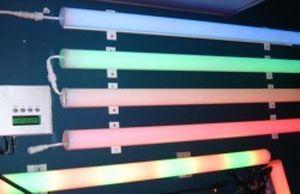 Поликарбонатные трубы можно использовать для освещения и подсветки