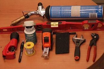 Инструменты для сварки медных труб