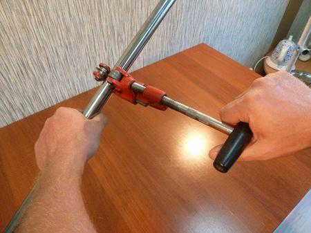 Пример резки трубы