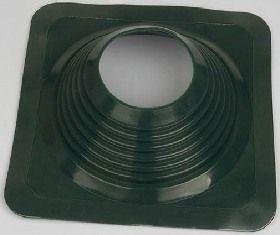 Фартук-колпак для трубы круглого сечения