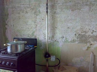 Переносим газовую трубу