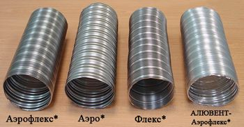 Трубы из алюминиевой фольги