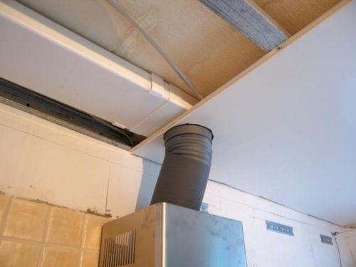 Закрываем трубу потолком