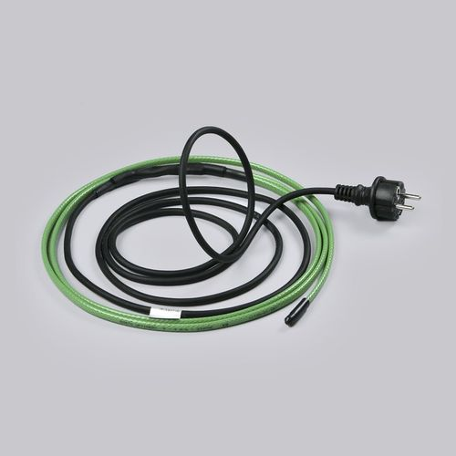 Как установить обогревающий кабель?