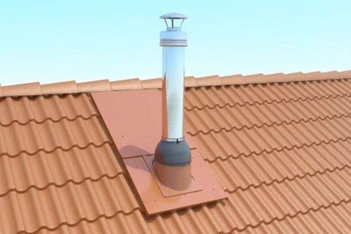 дымоходы для газового котла бакси в частном доме