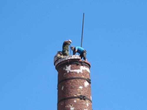 Проект на демонтаж дымовой трубы котельной