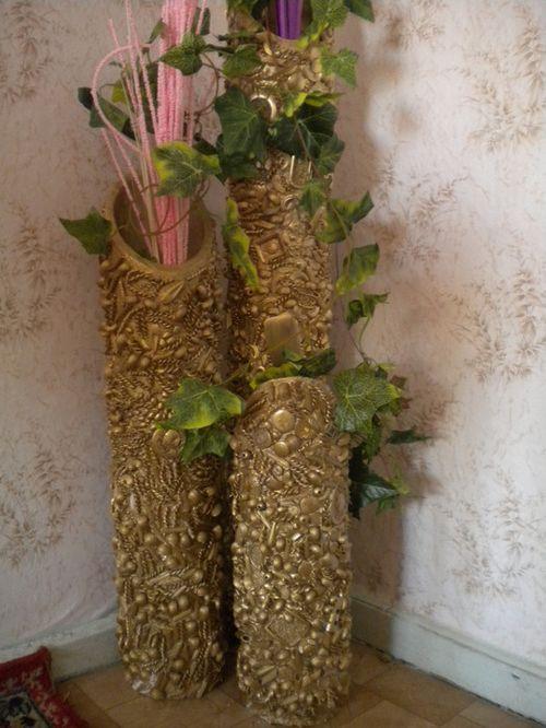 Изготовление вазочек своими руками