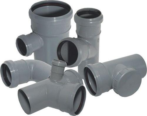 Тройники для врезки в канализационные трубы