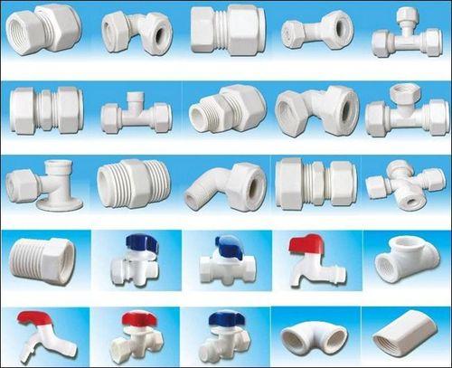 Виды уголков пластиковых труб