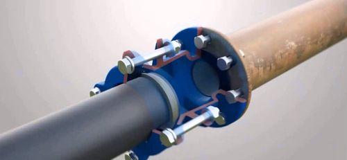 Соединение пэт трубы с железной