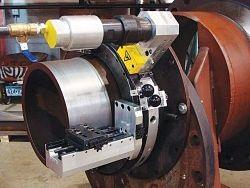 Механическая обработка трубы токарным станком