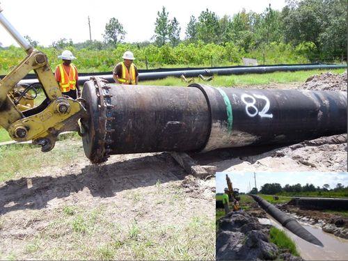 Монтаж чугунного трубопровода
