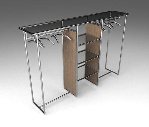 Шкаф из мебельных труб