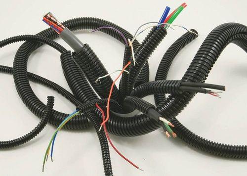 Гофрированые электротехнические трубы
