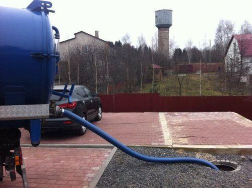 Очистка локальных канализационных систем