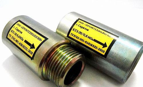 Газовые термозащитные клапаны