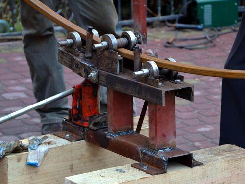 Самодельное оборудование для трубной прокатки