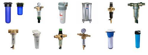 Основные типы фильтров для труб